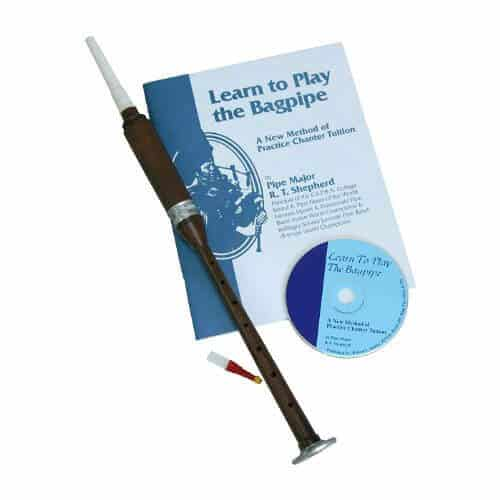 Learn to play the bagpipe